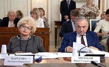 Людмила Нарусова иЮрий Бирюков