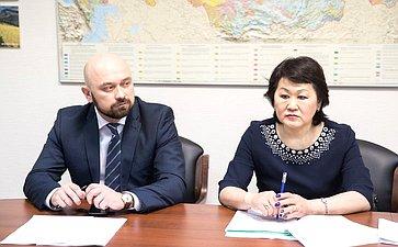 Встреча М. Щетинина сделегацией Республики Бурятия