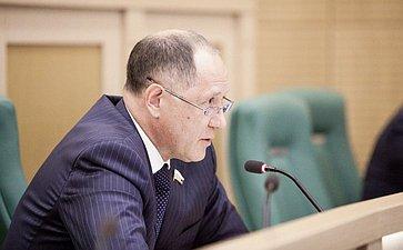 Игорь Чернышенко на 358 заседании Совета Федерации