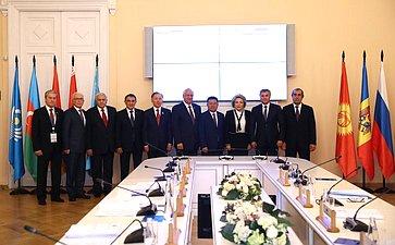 Участники заседания Совета МПА СНГ