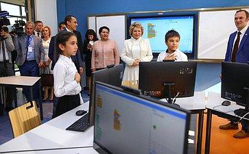 Посещение образовательного учреждения Республики Узбекистан
