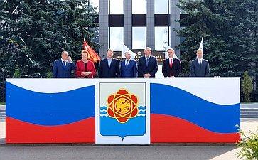 Сергей Леонов принял участие вмероприятиях, посвященных 45-летию Десногорска