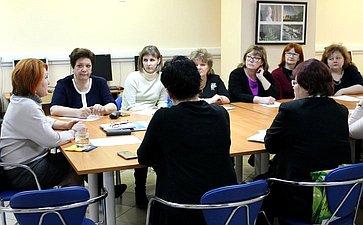 Н.Болтенко провела встречу сдиректорами многопрофильных учреждений дополнительного образования города Новосибирска