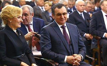 Встреча Президента России счленами Совета законодателей при Федеральном Собрании РФ