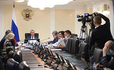 Заседание мониторинговой группы Временной комиссии СФ позащите государственного суверенитета ипредотвращению вмешательства вовнутренние дела России