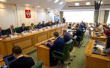 Расширенное заседание рабочей группы Временной комиссии позащите государственного суверенитета ипредотвращению вмешательства вовнутренние дела РФ