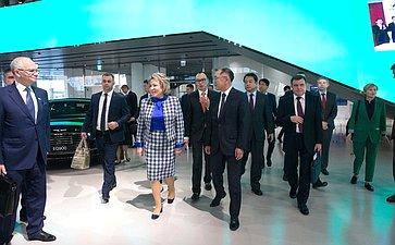 Делегация СФ посетила выставочный комплекс «Хёндэ Мотор»
