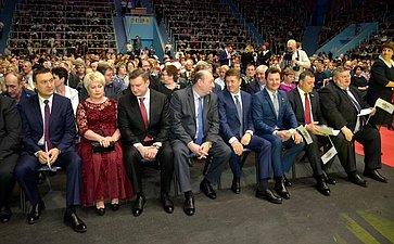 А.Шевченко принял участие вторжественном мероприятии, накотором были подведены итоги двух муниципальных конкурсов