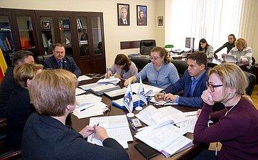 Встреча членов Комитета СФ пофедеративному устройству, региональной политике, местному самоуправлению иделам Севера спредставителями органов государственной власти иэкспертного сообщества