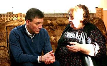 Андрей Турчак встретился сродными иблизкими псковских героев-десантников