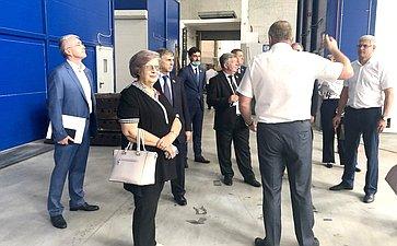 Посещение предприятий врамках выездного заседания Комитета СФ поРегламенту иорганизации парламентской деятельности вг.Краснодаре