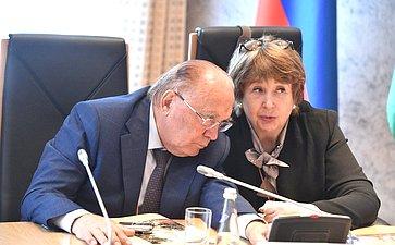 Виктор Садовничий иМарина Боровская