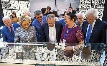 В. Матвиенко приняла участие вцеремонии открытия IV Фестиваля Русского географического общества