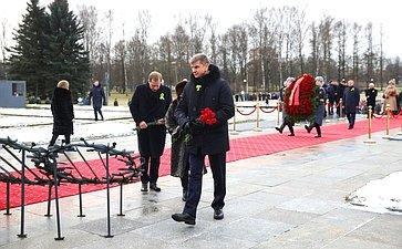 Памятные мероприятия, посвященные 76-й годовщине полного освобождения Ленинграда отфашистской блокады