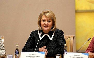 Лилия Гумерова приняла участие вработе II Всероссийского съезда директоров клубных учреждений вУфе