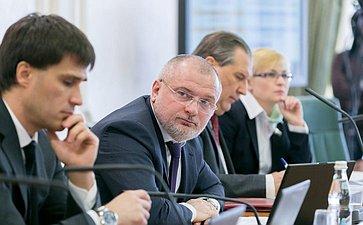 А. Клишас назаседании Комитета Совета Федерации поконституционному законодательству игосударственному строительству