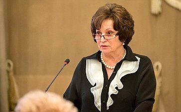 Е. Лахова провела заседание Всероссийского женского форума
