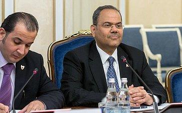 Чрезвычайный иПолномочный Посол Королевства Бахрейн вРФ Ахмед Аль-Саати