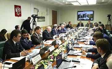 Расширенное заседание Комитета СФ поэкономической политике врамках Дней Курской области вСФ