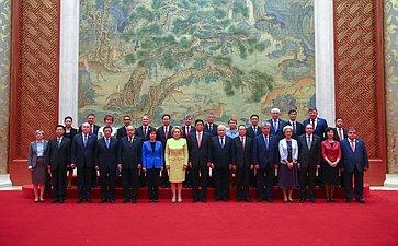 Встреча сПредседателем Постоянного комитета Всекитайского собрания народных представителей Китайской Народной РеспубликиЛи Чжаньшу