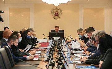 Заседание Комитета Совета Федерации помеждународным делам