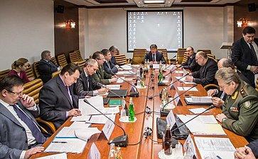 Заседание Экспертного совета натему «Онормативно-правовом обеспечении призыва граждан Российской Федерации навоенную службу имерах поего совершенствованию»