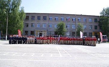 Областной парад-смотр Юнармии посвящен 115-летию содня рождения Маршала Советского Союза С.С.Бирюзова