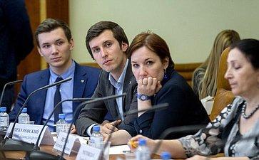 Заседание рабочей группы поподготовке предложений законодательного регулирования вопросов омолодежи игосударственной молодежной политике вРФ