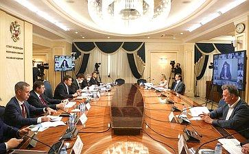 Заседание Совета поразвитию финансового рынка при СФ