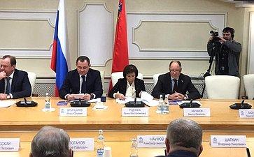 Виктор Абрамов принял участие вобщественных слушаниях попроекту закона Российской Федерации опоправке кКонституции РФ