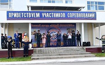 Открытие пятого Межрегионального детско-юношеского фестиваля судостроения исудоходства вВытегре