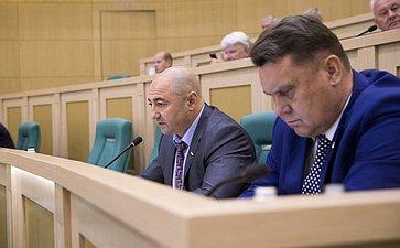 Александр Вайнберг на 358 заседании Совета Федерации