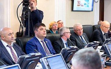 Заседание Комитета понауке, образованию икультуре сучастием представителей власти Архангельской области