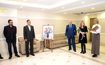 ВСовете Федерации открылась выставка живописи «Жизнь-искусство»