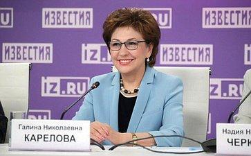Г. Карелова: Внедрение электронного сертификата натехнические средства реабилитации позволит существенно упростить их получение