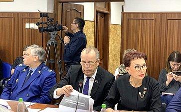 Татьяна Кусайко приняла участие ввыездном заседании правительства Мурманской области
