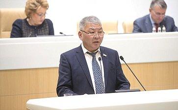 Председатель Народного Хурала Бурятии Цырен-Даши Доржиев