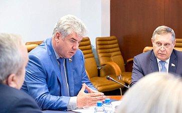 В. Бондарев провел заседание Комитета СФ пообороне ибезопасности