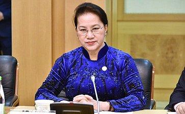 Встреча счленами делегации Национального собрания Вьетнама