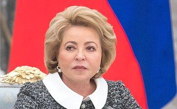 Валентина Матвиенко, Председатель Совета Федерации с2011года