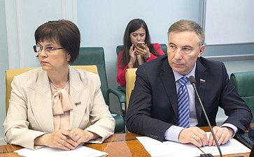 Расширенное заседание Комитета СФ посоциальной политике сучастием Министра культуры РФ В. Мединского