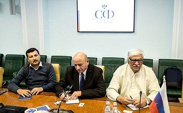 Встреча И. Морозова слидером Национальной партии Авами Пакистана Асфандияром Вали Ханом
