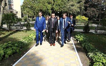 Н. Федоров провел выездное заседание рабочей группы повопросам комплексного развития города-курорта Кисловодска