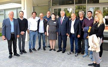 Итальянская делегация воглаве сМинистром туризма иторговли Джанни Кесса посетила Калужскую область поприглашению Юрия Волкова