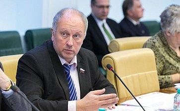 В. Абрамов Расширенное заседание Комитета СФ по науке, образованию и культуре