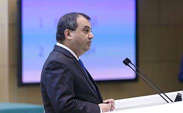 Председатель Межпарламентского союза Сабер Хоссейн Чоудхури вСовете Федерации