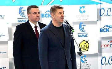 Андрей Шевченко принял участие вторжественном открытии турнира II командного первенства МАУ СШОР