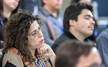 Встреча К. Косачева смолодыми представителями общественно-политических кругов исредств массовой информации изстран Латинской Америки иИспании