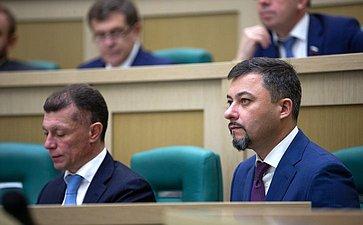 Максим Топилин иАлексей Вовченко