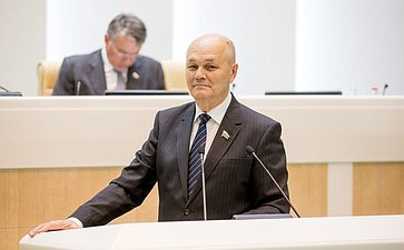 374-е заседание Совета Федерации Щетинин